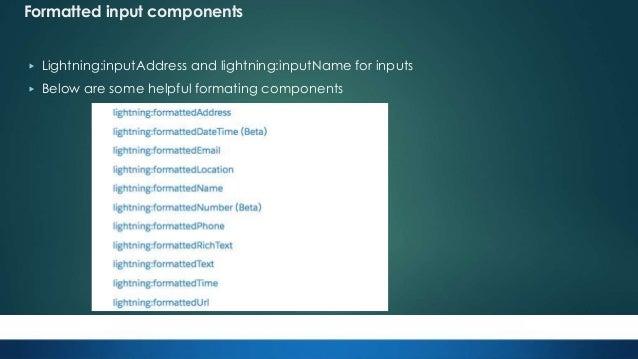 Salesforce Apex Hours:- Spring 18 Lightning Component Framework Updat…