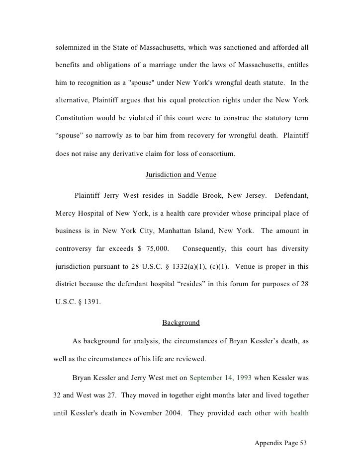 Spring 2006 appellate brief assignment west v. mercy hospital - app…
