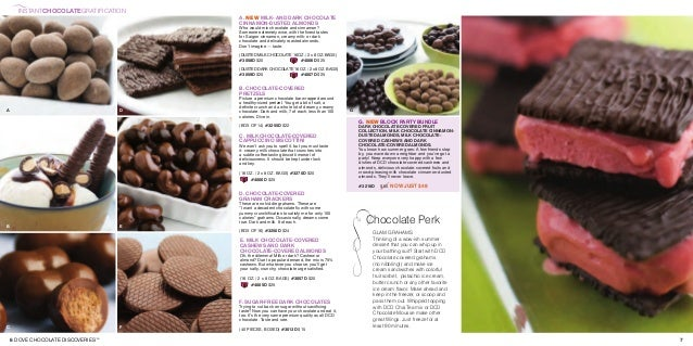 Dove Chcolate Spring Summer Catalog