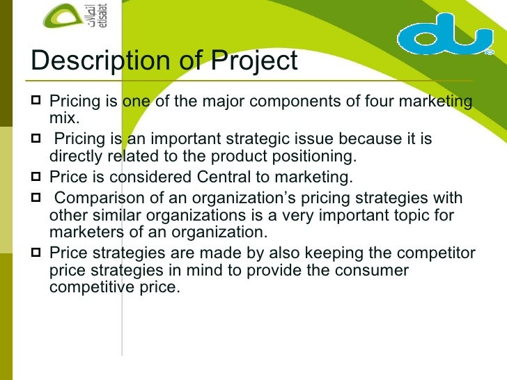 etisalat marketing strategy Experienced marketing professional with in-depth knowledge of new product  proposing a generic strategy for a south  business marketing at etisalat uae.