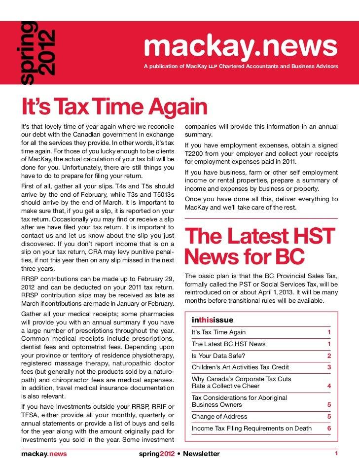 spring 2012                                          mackay.news                                                A publicat...