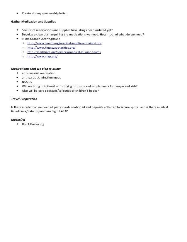 Spring 2014 mission trip list of tasks 3 11 14 3 altavistaventures Choice Image
