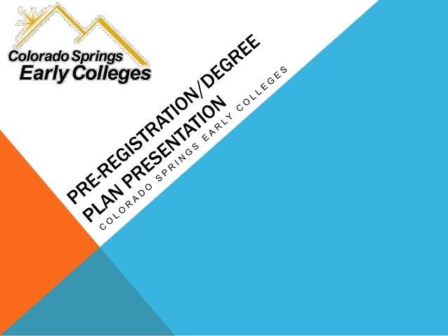 SPRING REGISTRATION PRESENTATION OVERVIEW • Spring Registration—IS DIFFERENT! • Individual Graduation Progress Screen Prin...