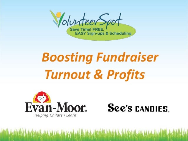 #FreeTech4PTA @VolunteerSpot Boosting Fundraiser Turnout & Profits
