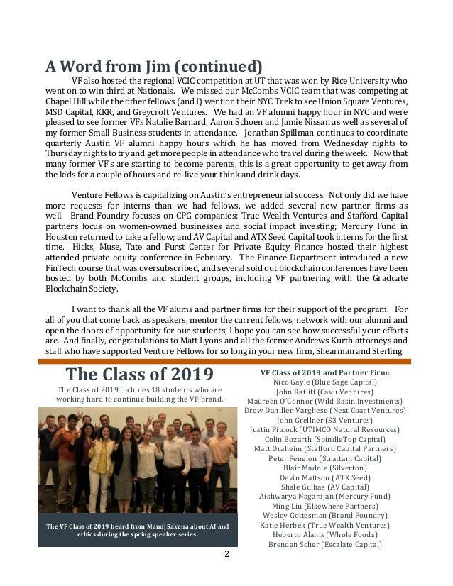 Spring 2018 VF Newsletter Slide 2
