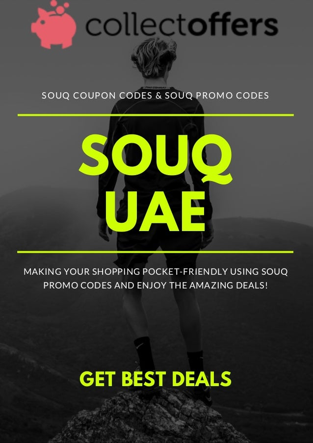 Souq Coupon Codes | Best Online Shopping Site | UAE