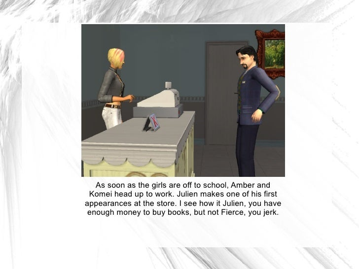 As soon as the girls are off to school, Amber and Komei head up to work. Julien makes one of his first appearances at the ...