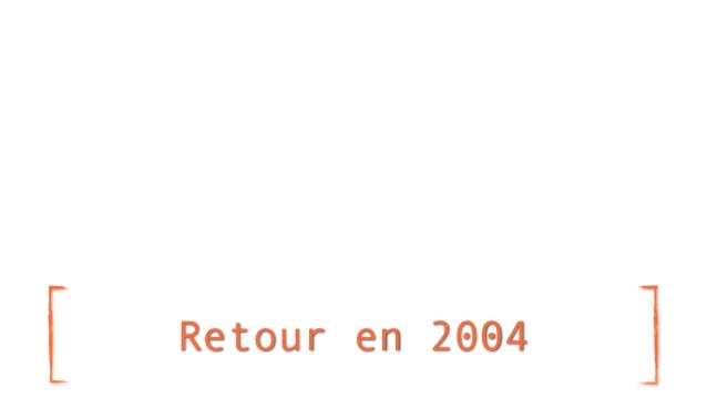 Retour en 2004