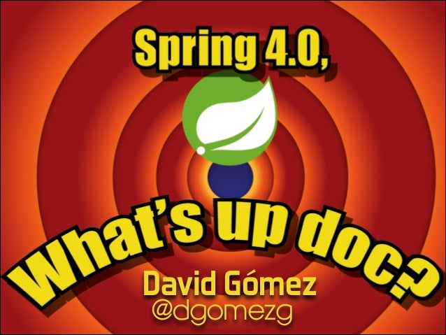 Subtitle Text Author Contact info  David Gómez @dgomezg