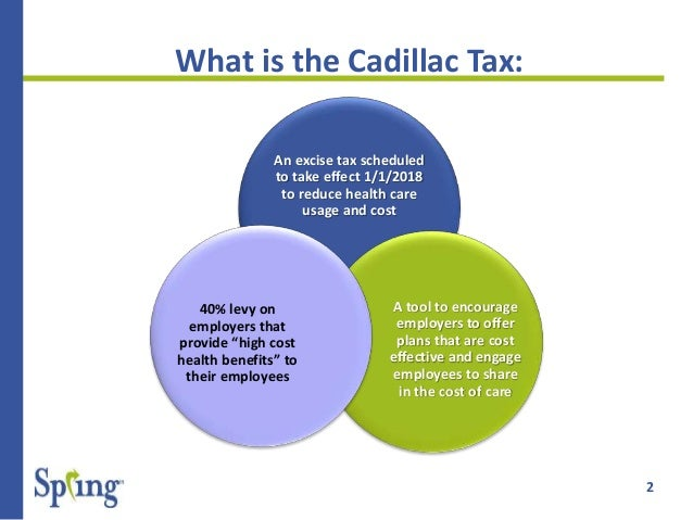 What You Need To Know About The Cadillac Tax