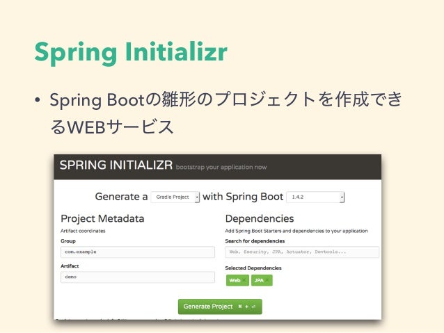 Spring Initializr • Spring Boot WEB
