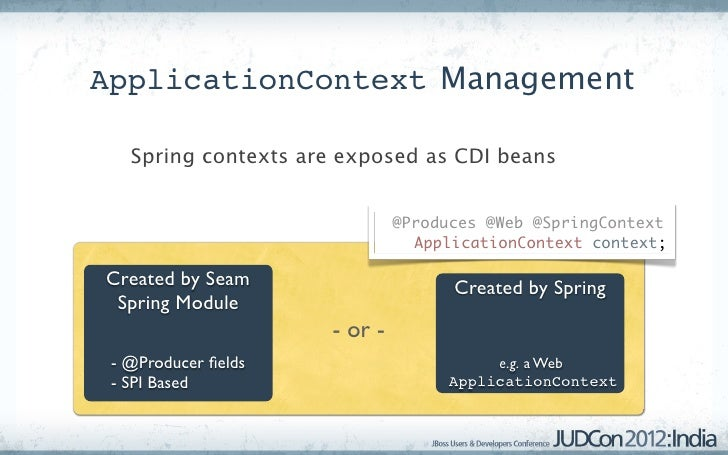 Spring cdi interop applicationcontext 16 malvernweather Image collections