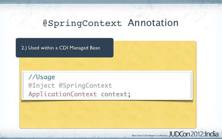 Spring cdi interop applicationcontext context 18 malvernweather Image collections