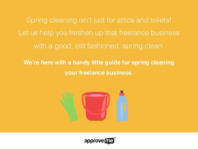 Spring cleaning Slide 2
