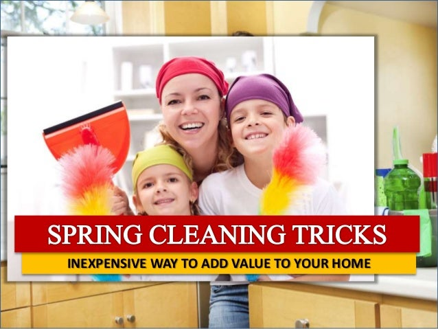 INEXPENSIVE WAY TO ADD VALUE TO YOUR HOME