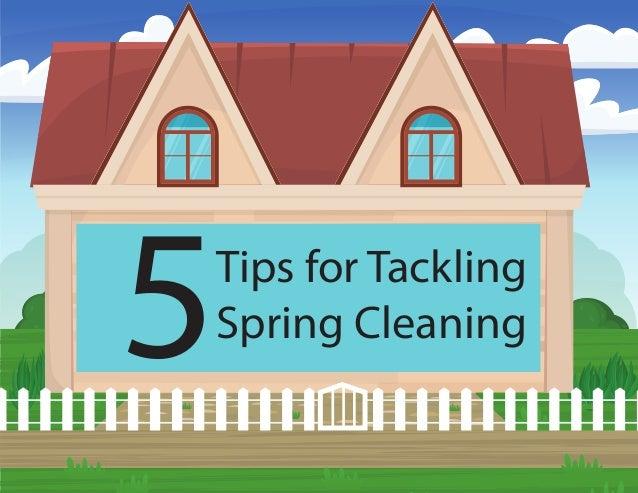 5Tips for Tackling Spring Cleaning