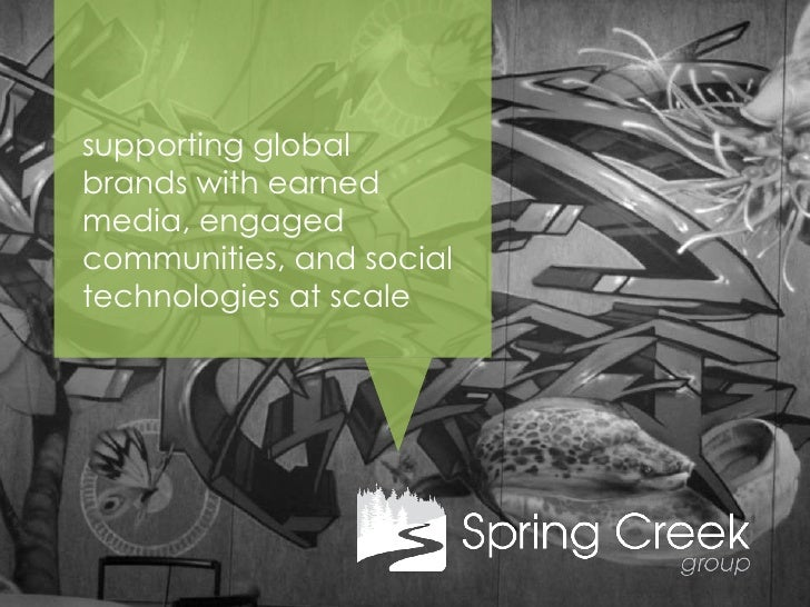 supporting globalbrands with earnedmedia, engagedcommunities, and socialtechnologies at scale