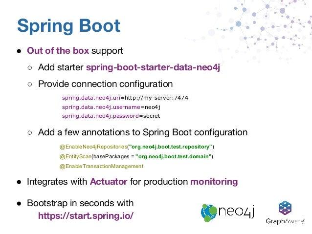 Spring Data Neo4j: Graph Power Your Enterprise Apps