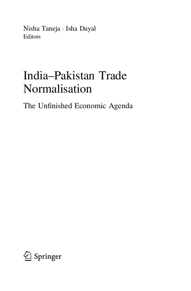 pakistan trade liberalization sectoral study Full-text (pdf) | the boom in industrial sector has lead to many problems and child labor is no exception this study explores the linkages between trade liberalization and child labor both.