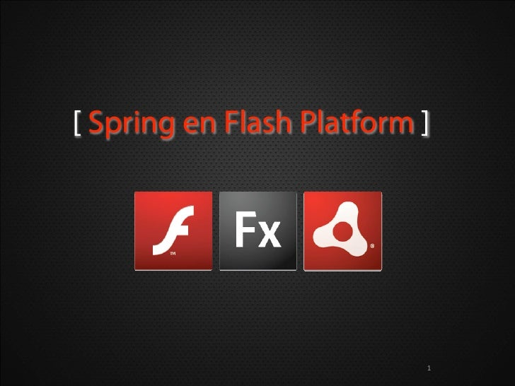 SpringIO - SpringActionScript