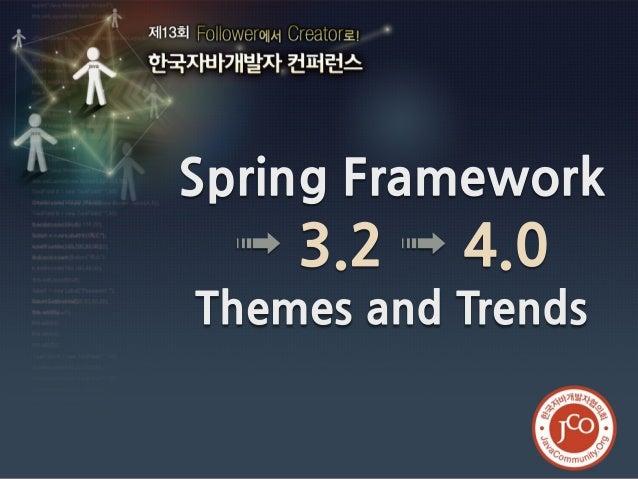 Spring framework 3.2 \u003e 4.0 — themes