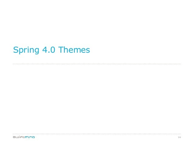 Spring 4.0 Themes  16