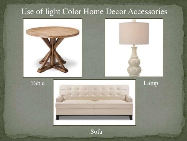 use of light color home decor accessories lamptable sofa