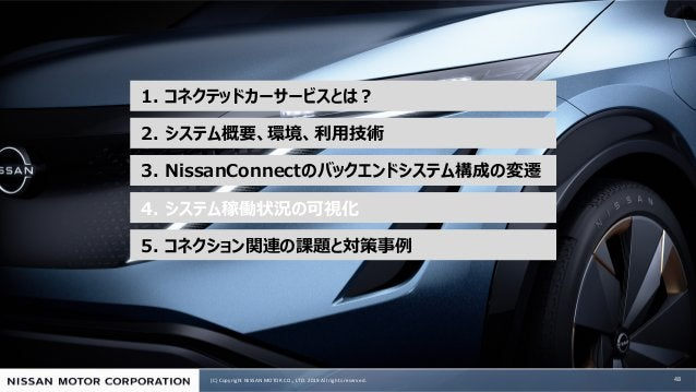 (C) Copyright NISSAN MOTOR CO., LTD. 2019 All rights reserved. e ea N 1 C .. 48 5 c 4 N3 2