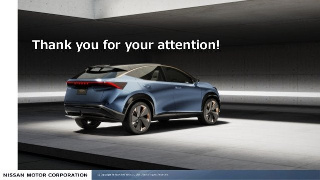 (C) Copyright NISSAN MOTOR CO., LTD. 2019 All rights reserved. ! !