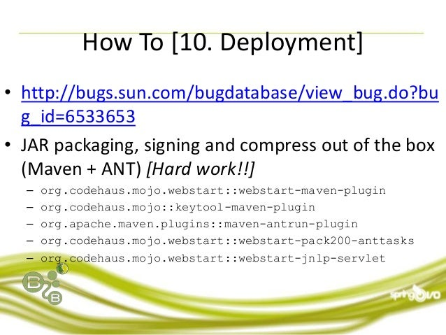 Spring IO 2012: The Walking Dead - Desktop Applications with