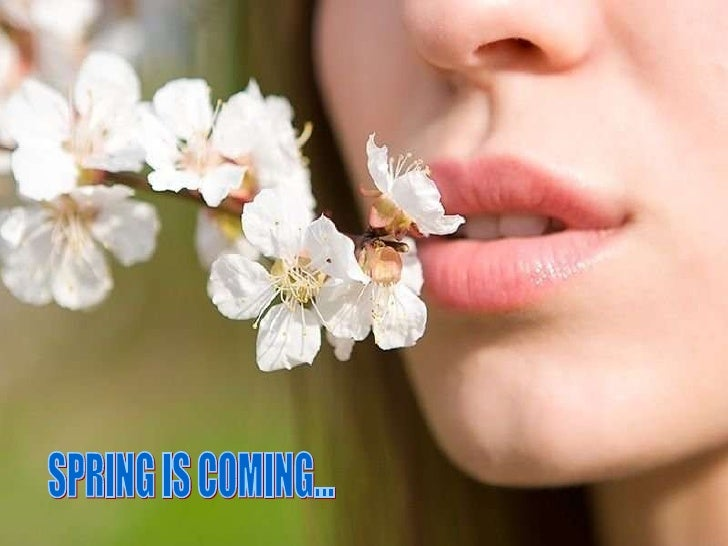 SPRING IS COMING...