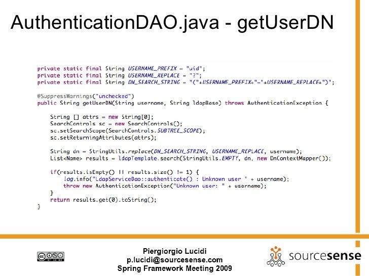 Ldap User Creation In Java