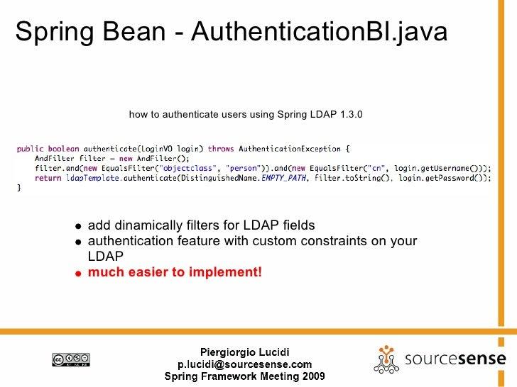 LdapTemplate: LDAP Programming in Java Made Sim ...