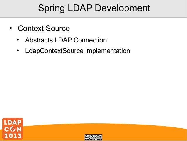 spring-mvc - なぜSpring LDAPのLdapTemplate …