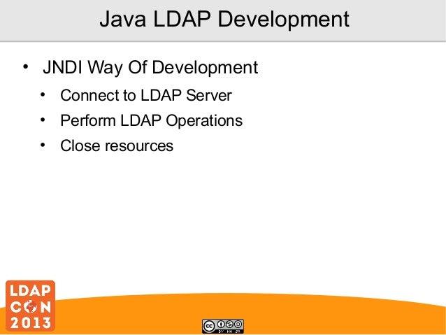 LDAP Development Using Spring LDAP