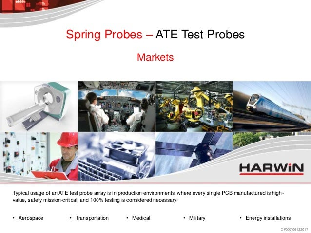 Spring loaded contacts PTM