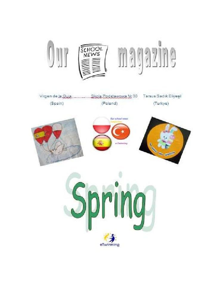 Spring magazine presentation 2