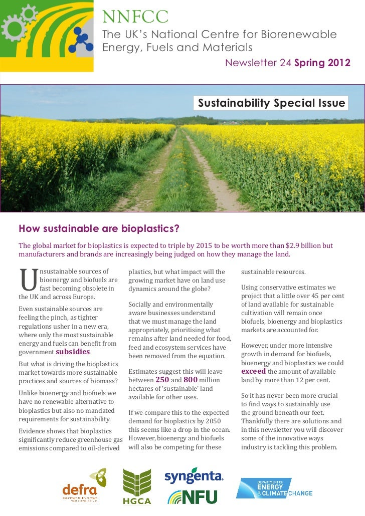 NNFCC                             The UK's National Centre for Biorenewable                             Energy, Fuels and ...