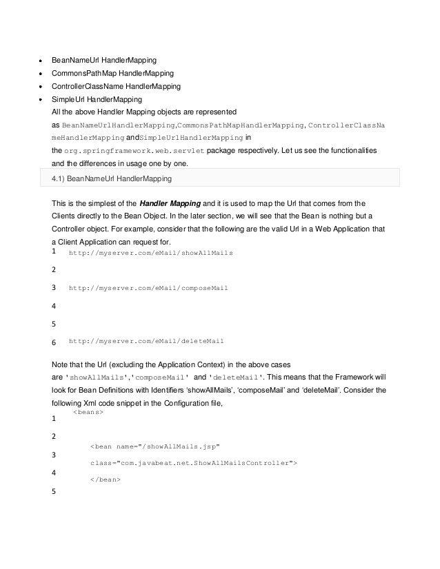 Spring 3.0 Reference Documentation Pdf