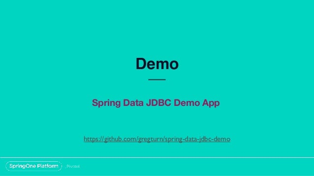 JDBC, What Is It Good For?