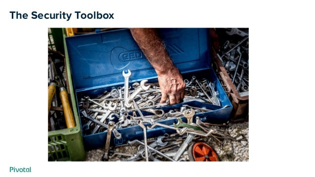 The Security Toolbox