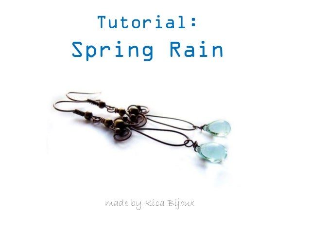 Tutorial:  Spring Rain  made by Kica Bijoux