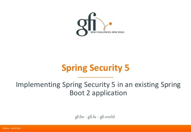Spring Security 5