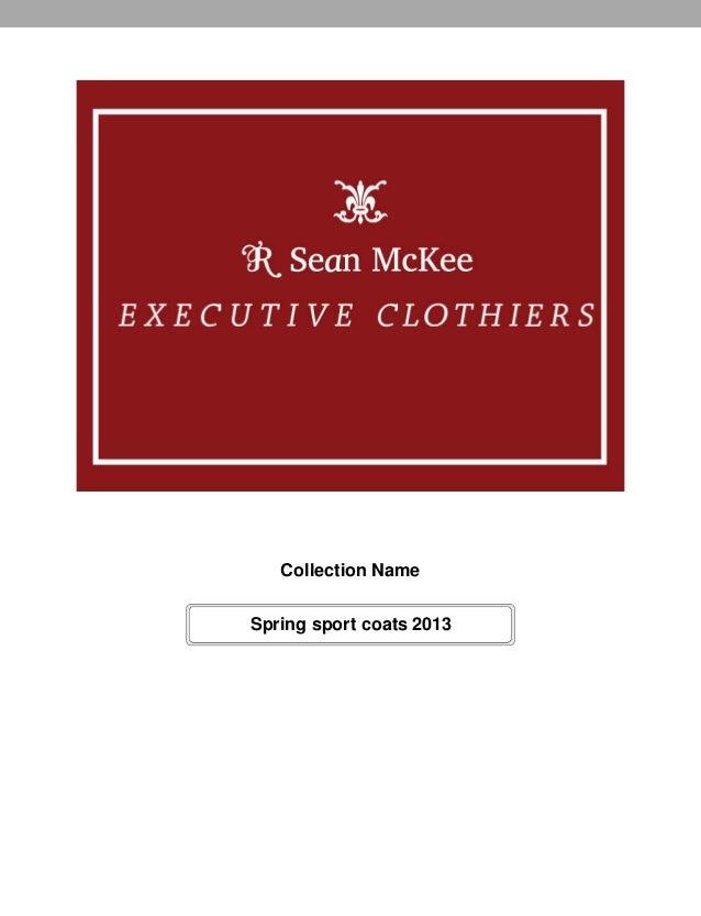Collection NameSpring sport coats 2013