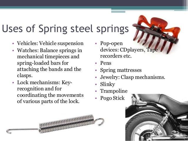 Spring Steel Springs