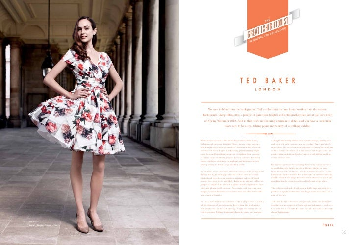 2fb78ed30 ... Ted Baker brings you spring summer 2012. Exhib A. Cece - Dress2 3 72  72  3.
