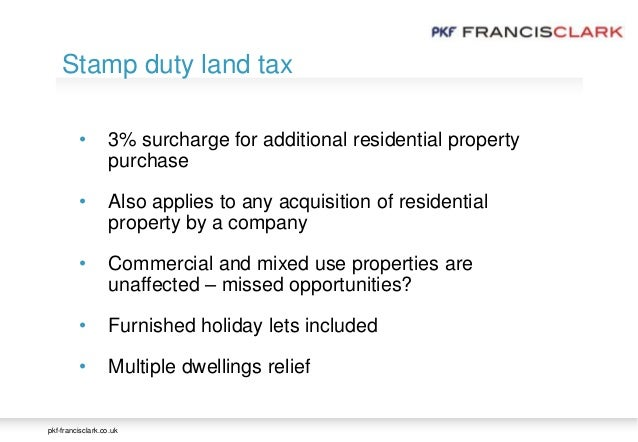 Stamp Duty Second Property Rental Company