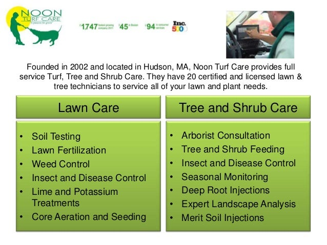 Noon Turf Care Spring 2012 Webinar Lawn And Property Tips