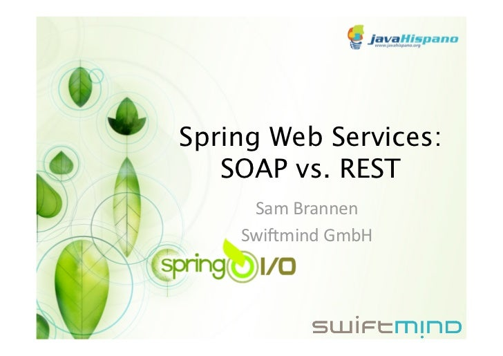 Spring Web Services: