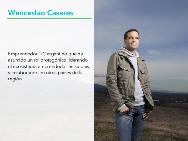 Emprendedor TIC argentino que ha asumido un rol protagónico liderando el ecosistema emprendedor en su país y colaborando e...